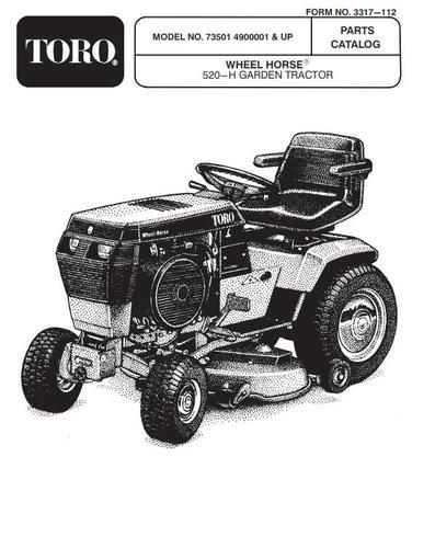 Tractor 1994 520-h D U0026a Om Ipl Wiring Sn Pdf