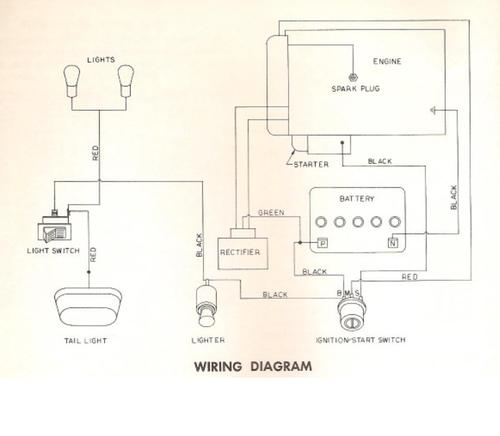 Tractor 1968 Electro 12 D U0026a Tpl Wiring Sn Pdf - 1965-1972