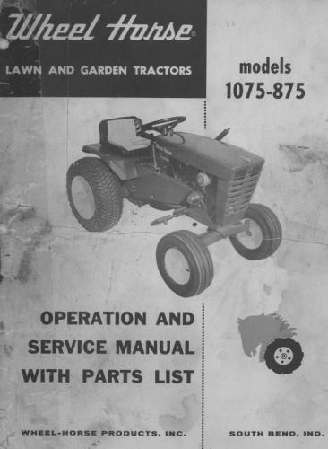 Tractor 1965  875 & 1075 D&A OM IPL Wiring SN.pdf