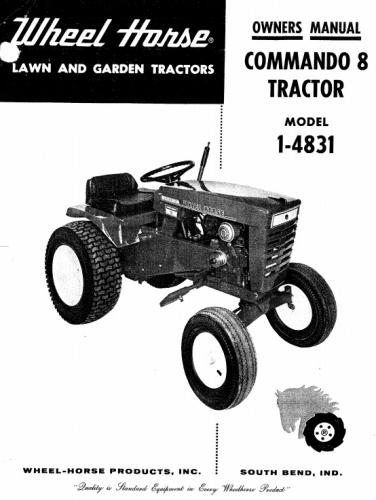 Tractor 1968 Commando 8 D&A OM IPL Wiring SN.pdf