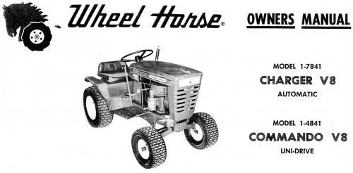 tractor 1969 commando v8 d u0026a om ipl wiring sn pdf - 1965-1972