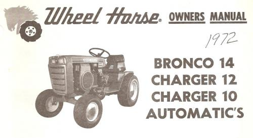 Tractor 1972 Bronco 14, Charger 10 & Charger 12 D&A OM Wiring SN.pdf
