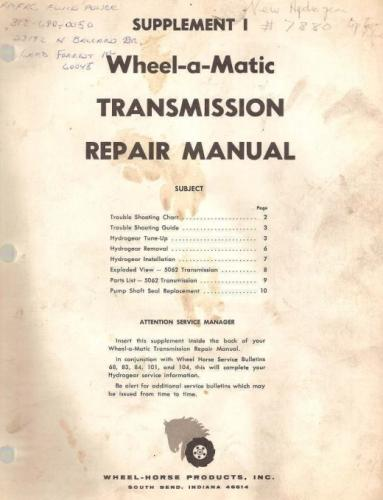 Transmission Hydro Sundstrand Wheel-a-Matic 1969 SM #A-5179.pdf