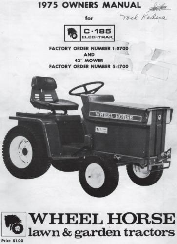 Wiring Diagram Wheel Horse Lawn Tractor : Kubota tractor wiring diagrams kohler riding mower