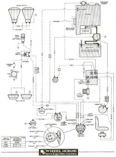 tractor 1977 d-160 auto wiring only pdf