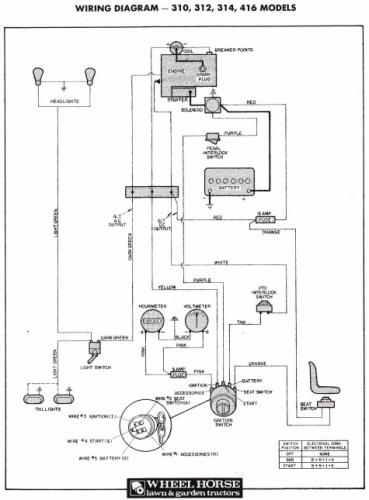 wheel horse wiring diagram   26 wiring diagram images