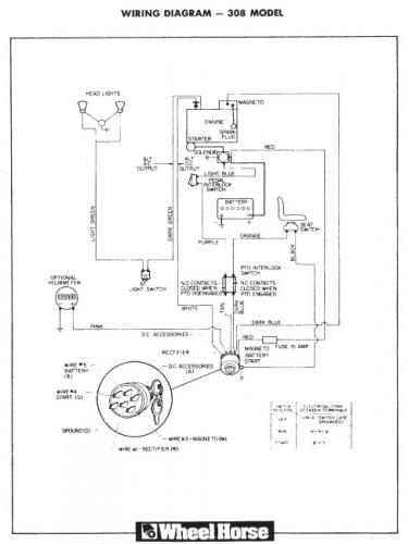 wheel horse 312 8 wiring diagram   32 wiring diagram images
