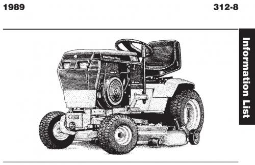 tractor 1989 312-8 wiring detailed pdf - 1985-1990