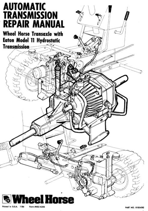 Transmission Hydro Eaton 11 SM #492-4205.pdf - Automatic / Hydro ...