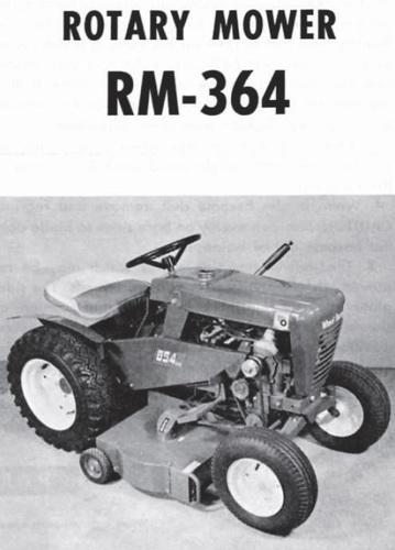 Mower Rotary 36in RD 1964-1965 RM-364 OM IPL SN.pdf