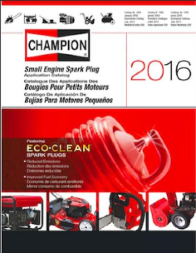 Reading Spark Plugs >> Champion Spark Plug Catalog - Other - RedSquare Wheel ...