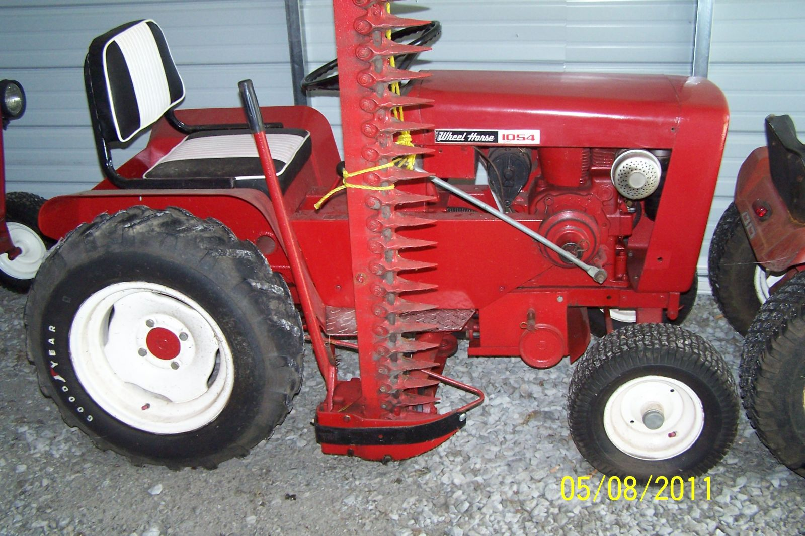 1965 Wheel Horse 1054-A with 52 inch Sickle Bar Mower