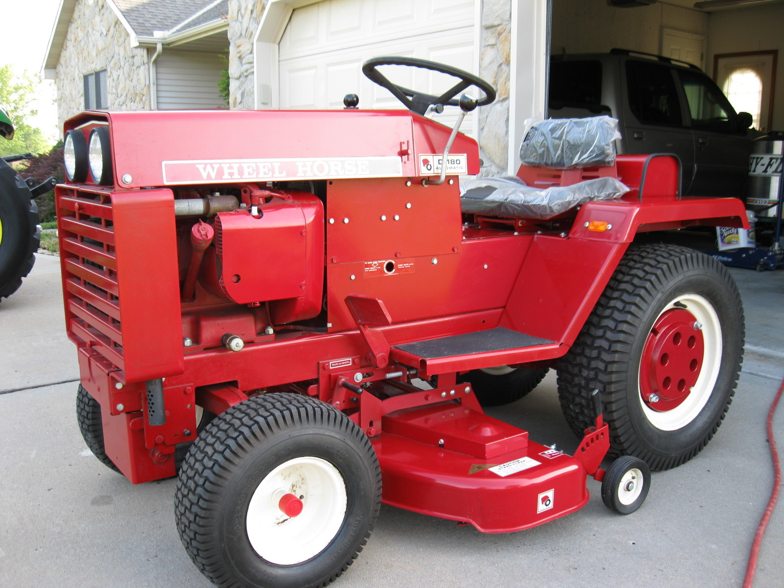 Wheel Horse Garden Tractor With Pto And 3 Point : Nos d series on ebay wheel horse tractors redsquare