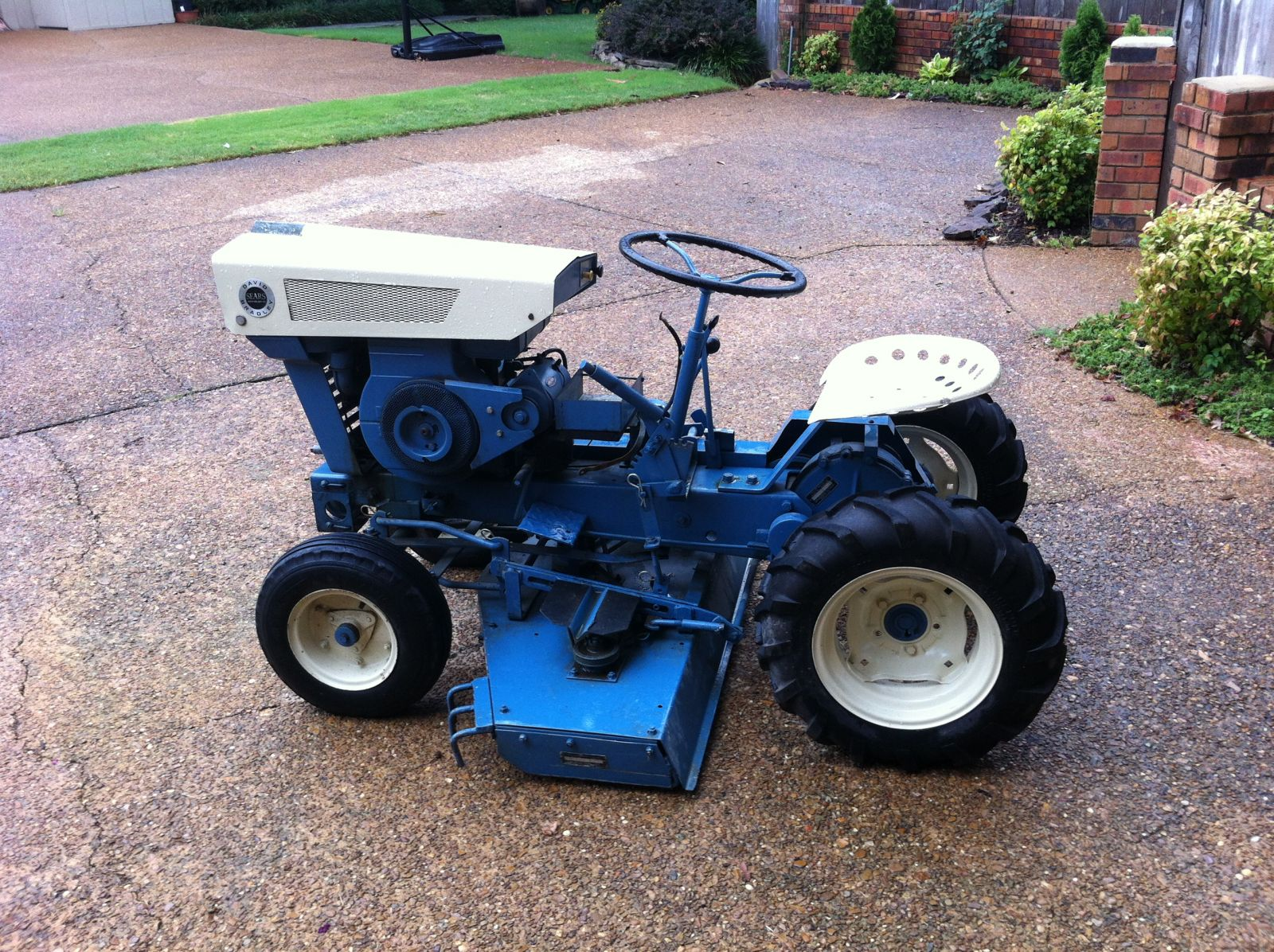 1972 Sears Suburban Garden Tractor Motorcycle Review And