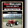 TRACTOR OF THE MONTH JANUARY 2013 JAKE KUHN&#39;S 1961 401
