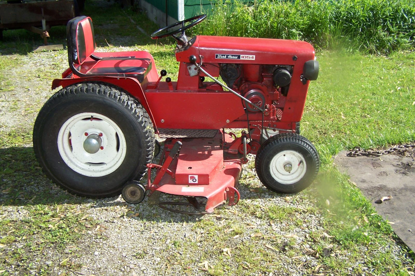 1964 Wheel Horse 1054 Tractor with 48 inch Mower Deck