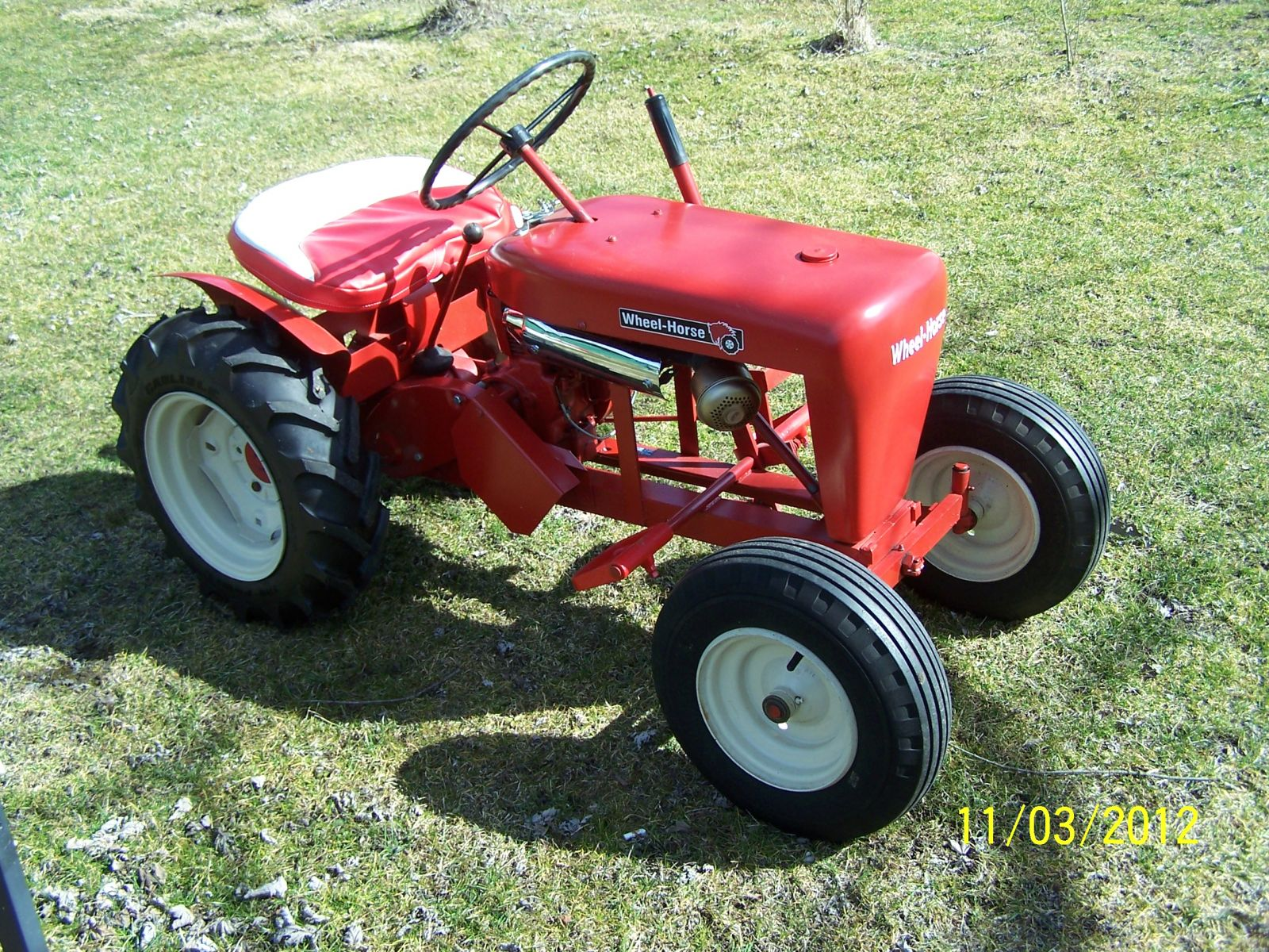 1958 Wheel Horse RJ