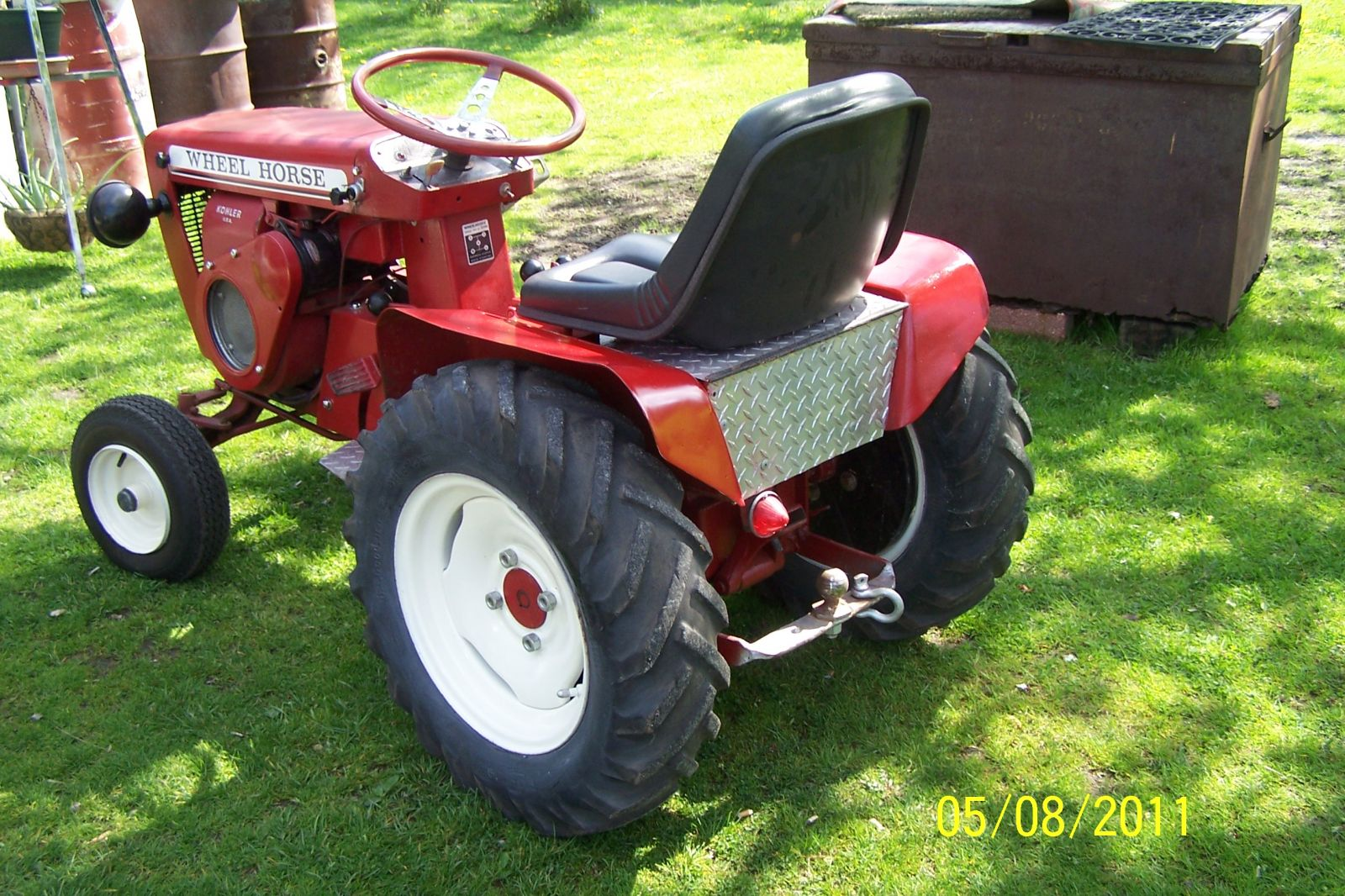 1964 Wheel Horse Tractor : Redsquare wheel horse forum
