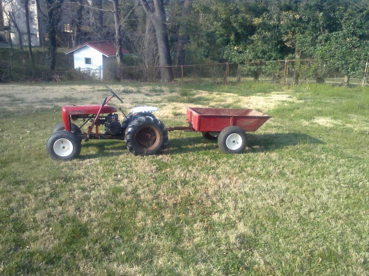wheelhorse tractor
