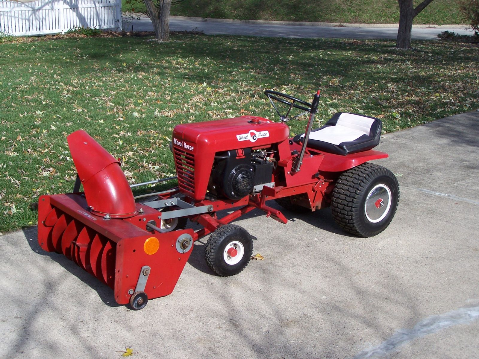 1967 L-157 with ST-324 Snowthrower