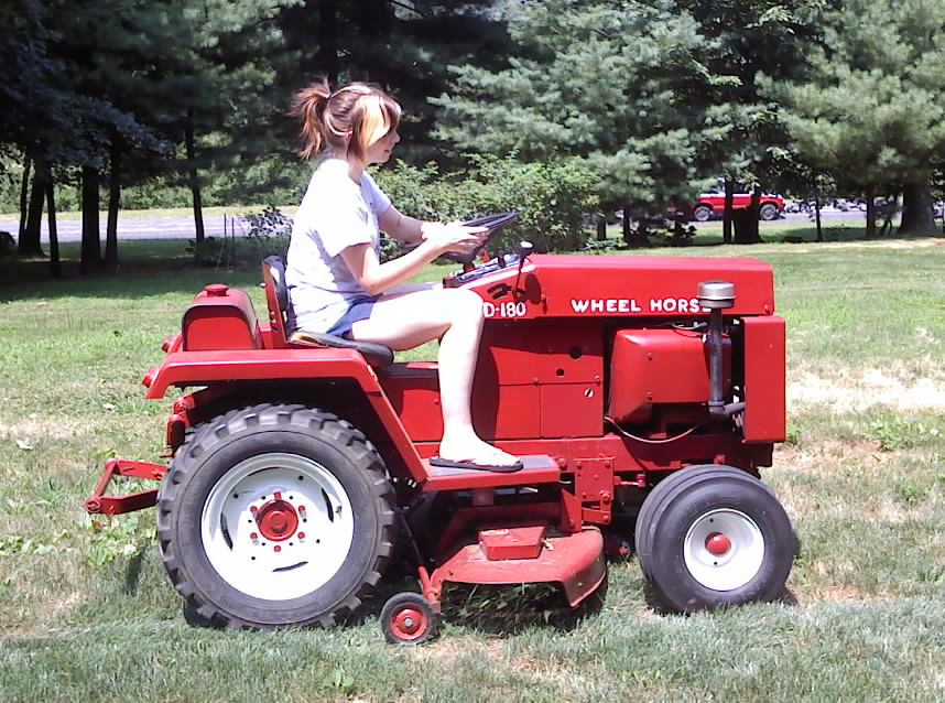 Wheel Horse Garden Tractor With Pto And 3 Point : D redsquare wheel horse forum