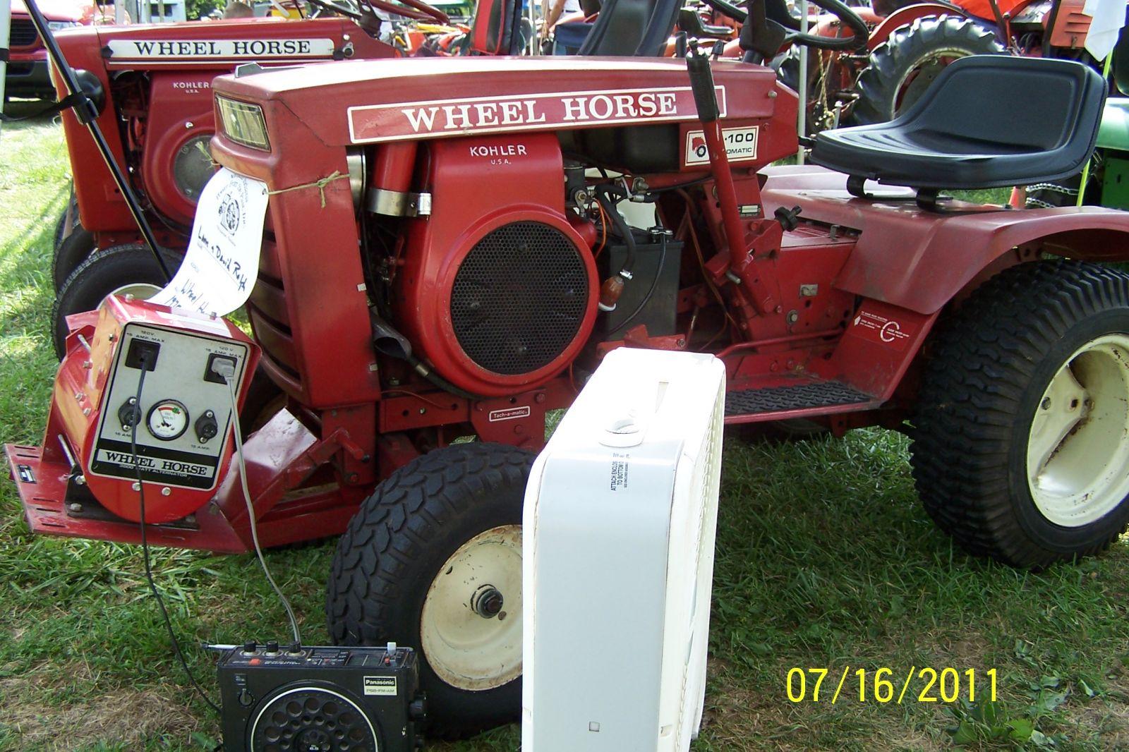 1975 B-100 and Wheel Horse 3000 Watt Generator