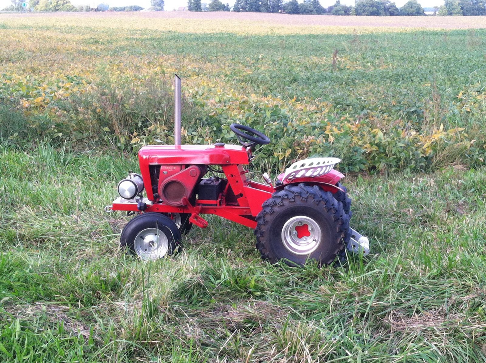 1964 Wheel Horse Tractor : For sale  redsquare wheel horse forum