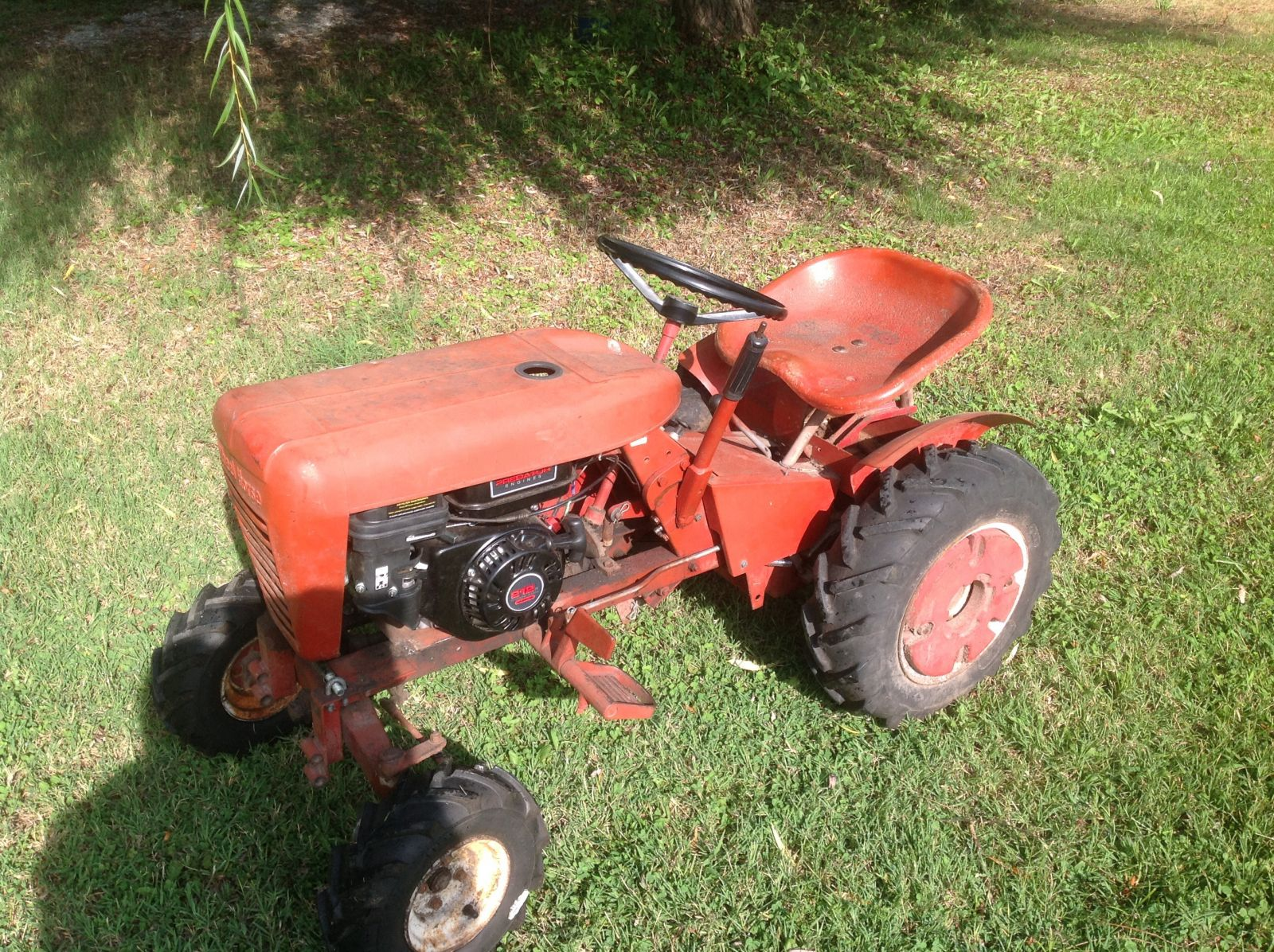 1964 Wheel Horse Tractor : Little old tractor  redsquare wheel horse forum