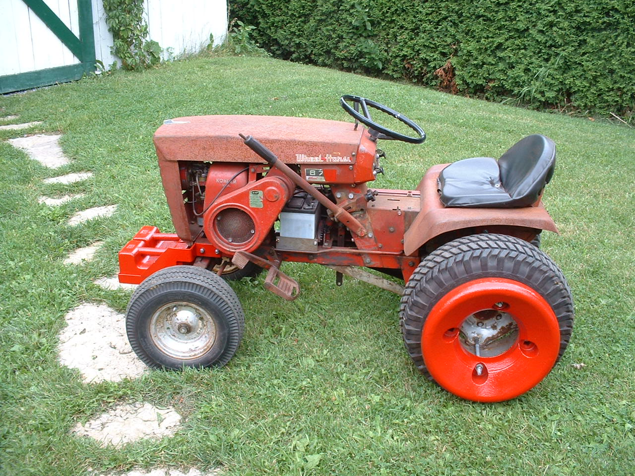 Wheel Horse Raider 12 Wiring Diagram Free For You Toro Ignition Switch 1972 Pictures To Pin On Pinterest Pinsdaddy Tractor Kohler Rectifier