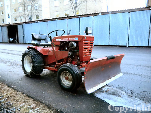 Mini Wheel Horse Tractor : Wheel horse tractor a mini
