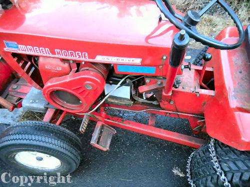 Mini Wheel Horse Tractor : Wheel horse tractor n mini