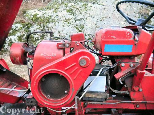 Mini Wheel Horse Tractor : Wheel horse tractor p mini