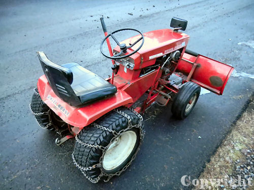 Mini Wheel Horse Tractor : Wheel horse tractor d mini