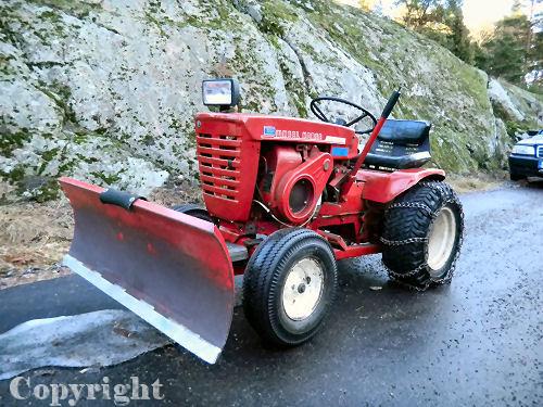 Mini Wheel Horse Tractor : Wheel horse tractor j mini