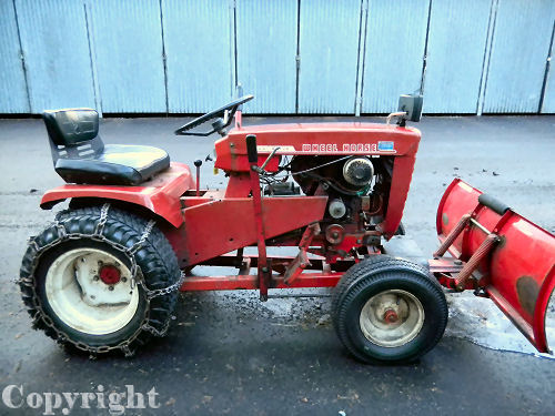 Mini Wheel Horse Tractor : Wheel horse tractor b mini