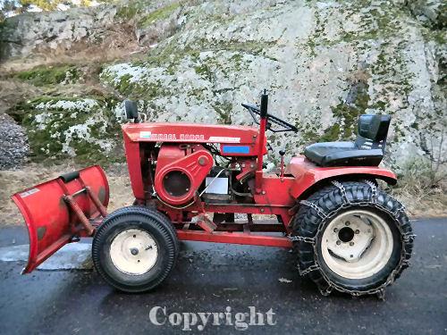 Mini Wheel Horse Tractor : Wheel horse tractor h mini