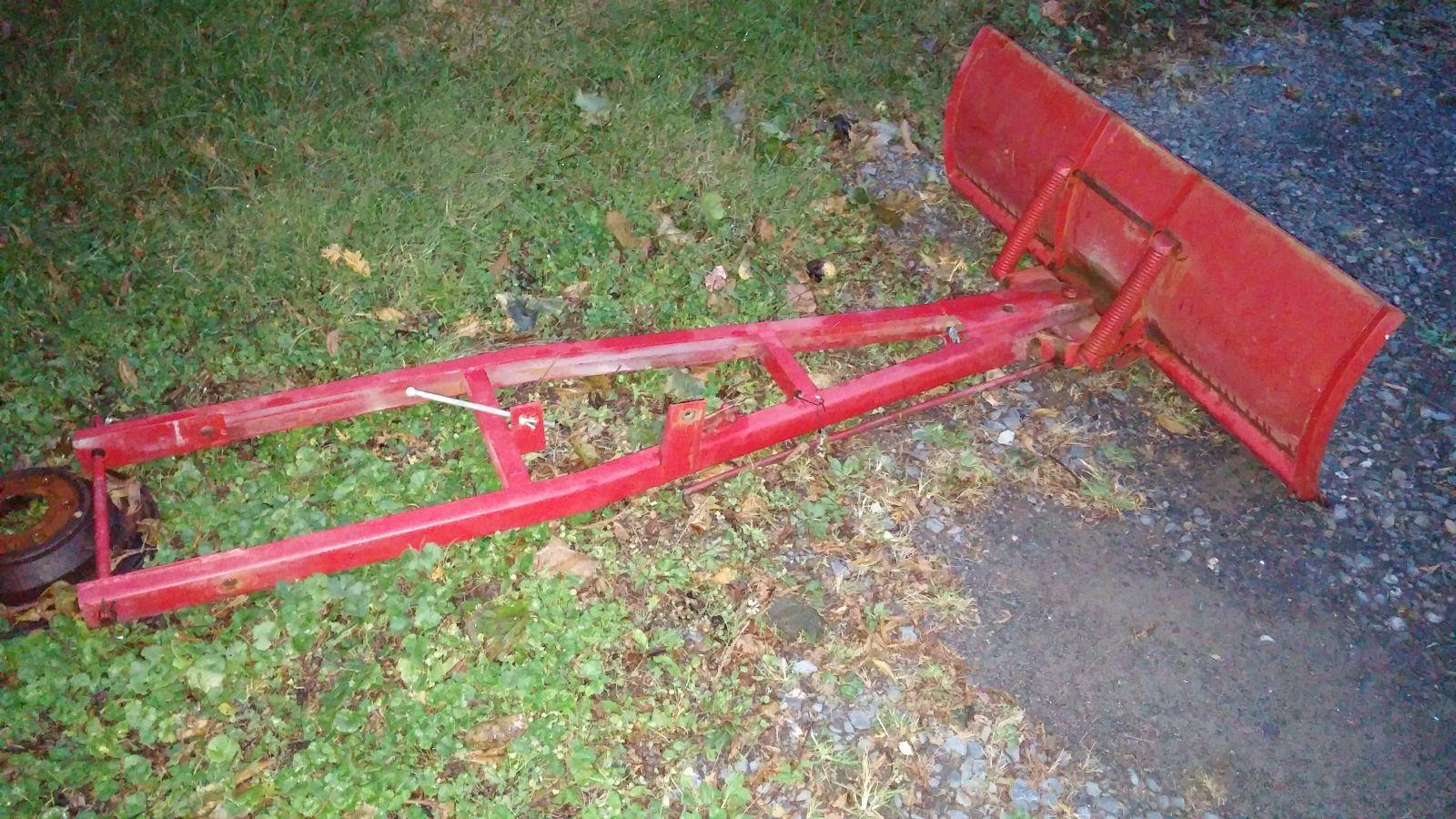long frame plow