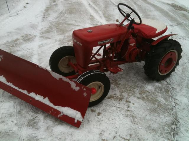 Best Wheel Horse Tractors : Best wheel horse snow machines page