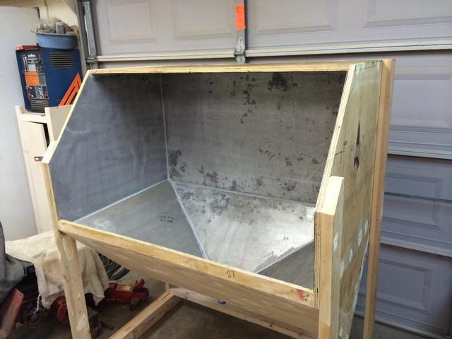 Blast Cabinet Build - Restorations, Modifications ...