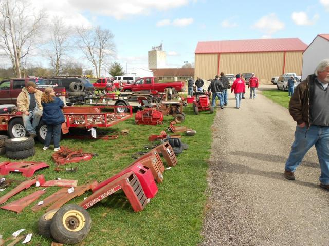 wheel horse swap meet mentone indiana 2015