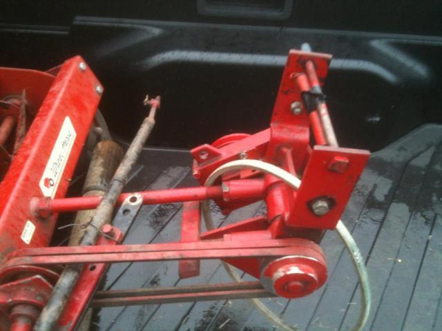 Tractor Hoist Bars : Lift bar for front reel mower implements and attachments