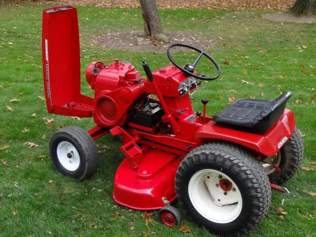 Lawn Tractor Wheel Puller : Pulling a lawn roller wheel horse tractors redsquare