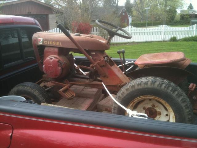 Wheel Horse 604 : Bought a wheel horse on friday in mt vernon illinois