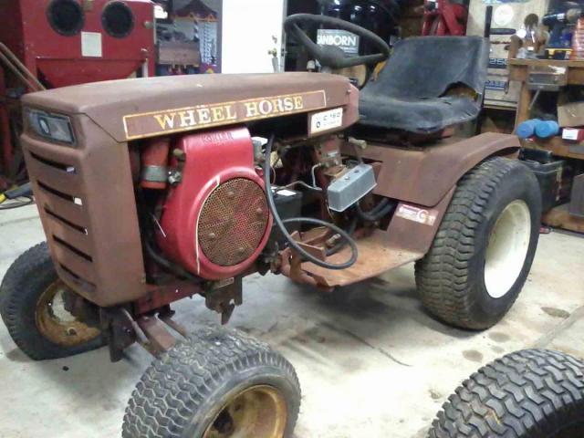 Mini Wheel Horse Tractor : My mini farm tractor wheel horse tractors redsquare