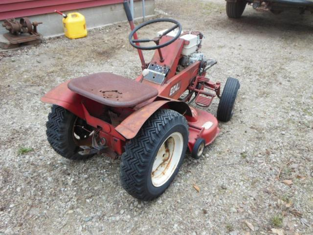 Wheel Horse 604 : Todays find wheel horse tractors redsquare
