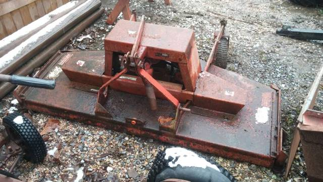 Used Tractors For Sale >> Wheel Horse D 3pt Finish Mower Attachment - Wheel Horse ...