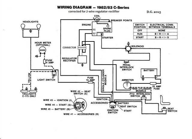 Wheel Horse 520h Wiring Diagram