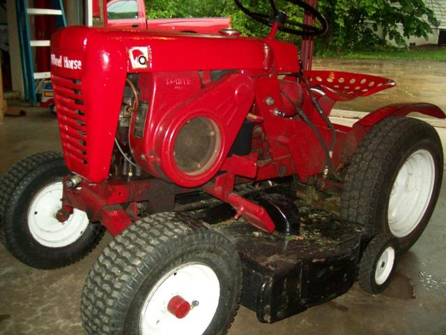 1966 753 Wheel Horse Tractor : Axle question wheel horse tractors redsquare
