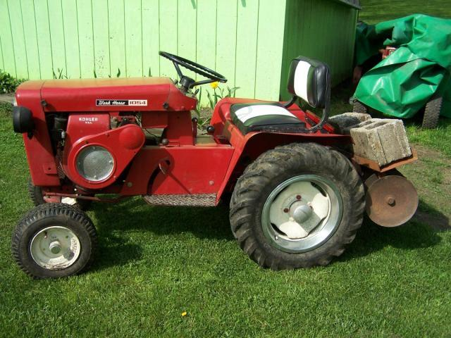 Wheel Horse Tractor Attachments : Wheel horse disc on tractor implements and