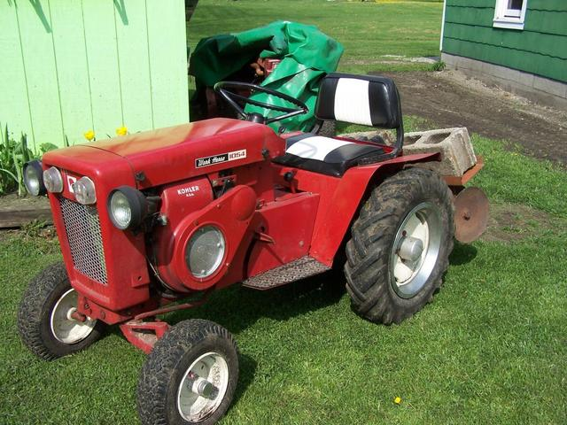1964 Wheel Horse Tractor : Wheel horse disc on tractor implements and